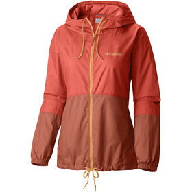 Columbia Flash Forward Windbreaker Jas Dames oranje